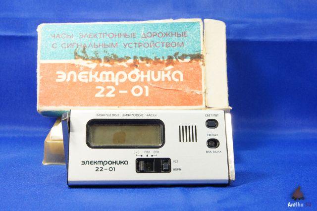 инструкция часы электроника 22-01
